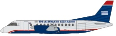 Express: SAAB 340  Capacity: 34 seats   Lavatories: 1
