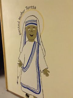 saints coloring pages bl mother teresa