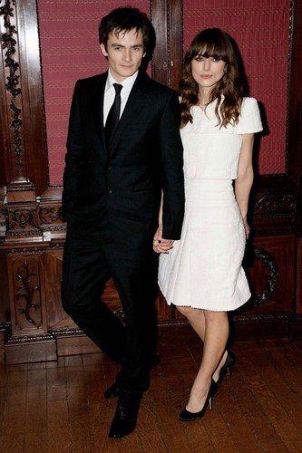 Keira Knightley y Rupert Friend