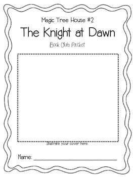 Magic Tree House #2 The Knight at Dawn Book Club Packet