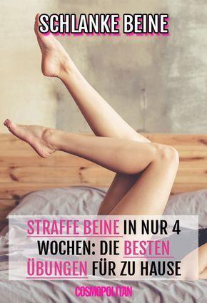 Fünf einfache Übungen, mit denen du deinen Unterkörper Last Minute in Form bringst