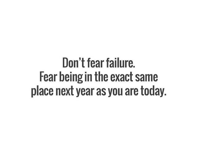 Inspirational Quotes About Failure: 17 Best No Fear Quotes On Pinterest