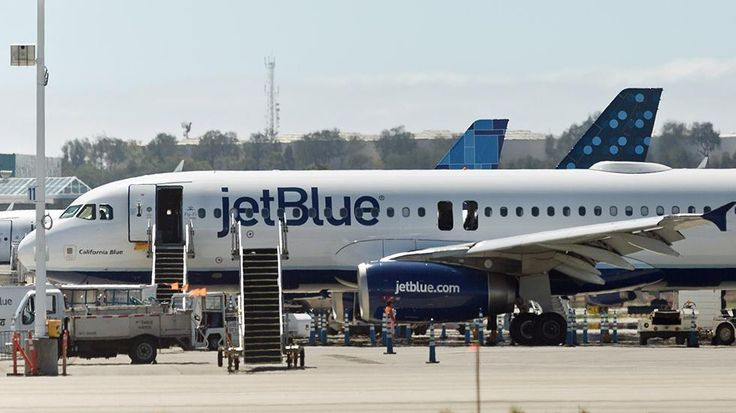 Passengers aboard a disabled JetBlue flight used social media to post in real-time about the harrowing incident.