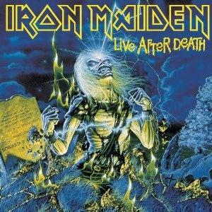 I was never really into heavy metal but I do have to admit this is a good album and Iron Maiden always has fantastic art.