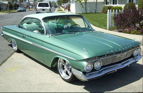 '61 Impala bubbletop  http://extreme-modified.com/page9.php