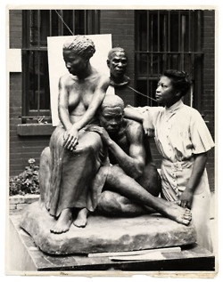 Sculptor, teacher, and advocate for black artists Augusta Savage.
