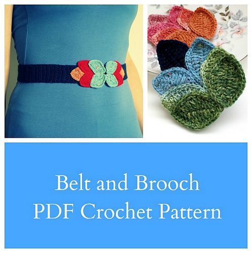 The 19 Best Crochet Belt Images On Pinterest Crochet Belt Knit