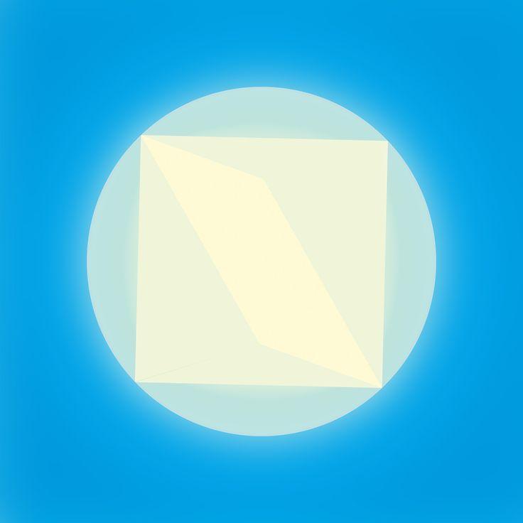 """""""cero"""" by Amel Segré. Exciz6, la dimensión geométrica. #abstrac #art #conceptual"""