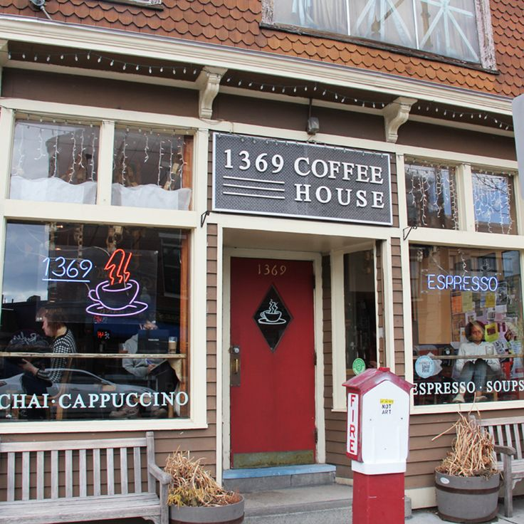 1369 Coffee House is the Best Coffee Shop in Cambridge in 2013.