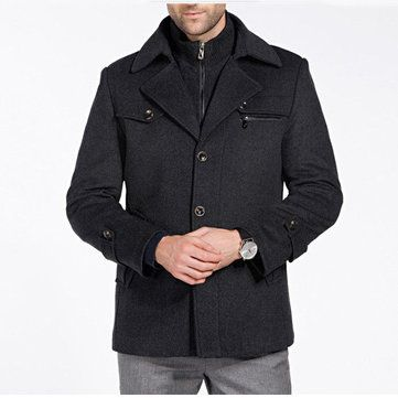 Only US$98.78 , shop Autumn Winter Men's Wool Jacket Coat Medium length Suit Stand Collar Thick coat at Banggood.com. Buy fashion Coat online.
