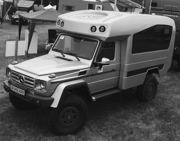 mercedes g wagon overland camper by orange work 4x4. Black Bedroom Furniture Sets. Home Design Ideas