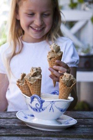 licorice ice cream (in Danish)