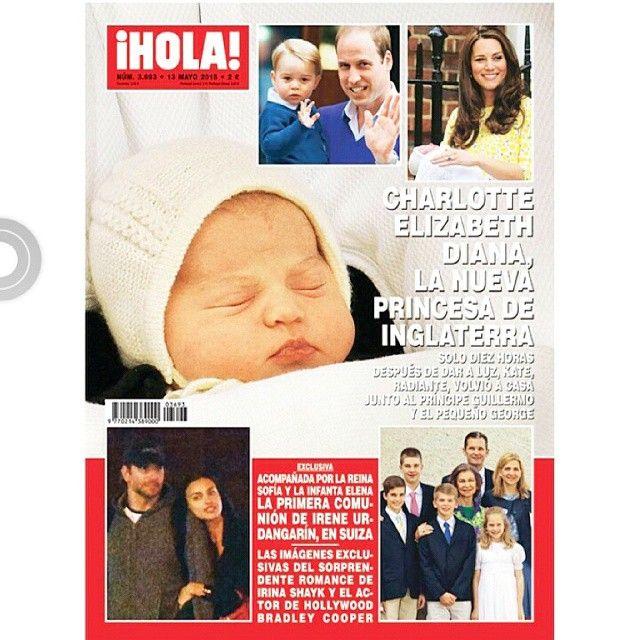 Irulea Moda Infantil y lencería femenina. Irulea en la revista HOLA. Charlotte Elisabeth Diana La nueva Princesa de Inglaterra viste en Irulea de San Sebastián.  #irulea #donostia #sansebastian #princesscharlotte #newroyalbaby #bayfashion #modainfantil #lenceria #ropaniños #princesacarlota Ropadebebe #HechoaMano #LenceriaMujer #VestidosdeComunion #Bebé #PrimeraComunion #RopaParaelHogar #ComercioDonostia #TextilHogar
