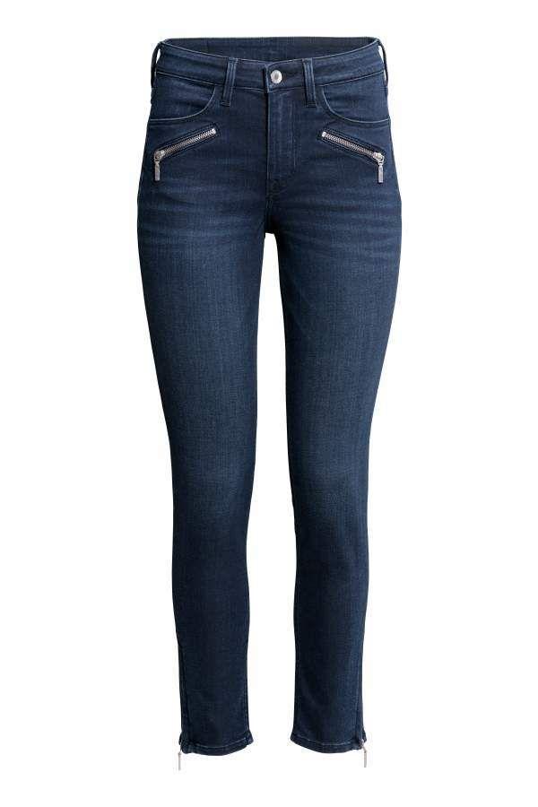 H&M Skinny Regular Ankle Jeans   Ankle jeans, Ankle length ...