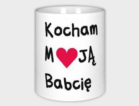 Kubek z nadrukiem, prezent dla babci babcia w Schmuck Dawanda  na DaWanda.com