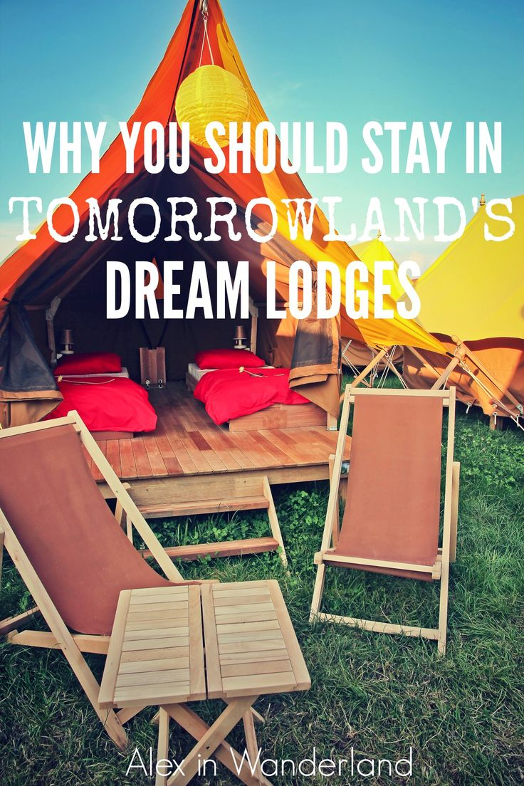 Tomorrowland's Dream Lodges turned out to be a fantastic choice for accommodation.  Read all about why we chose them and why it was the best decision ever. | Alex in Wanderland #Tomorrowland #Belgium #festivals