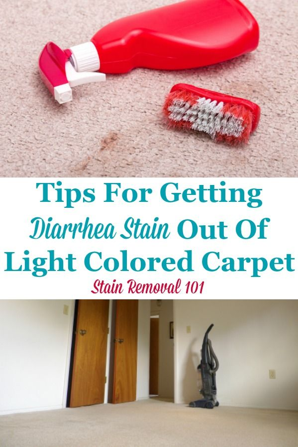 Getting Diarrhea Stain Out Of Light Colored Carpet Stain Remover Carpet Carpet Cleaning Hacks How To Clean Carpet