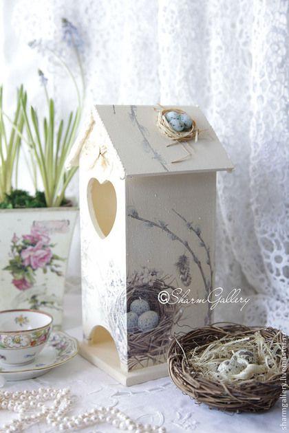 """Кухня ручной работы. Ярмарка Мастеров - ручная работа Чайный домик """"Семейное гнездо"""". Ручная, авторская работа.. Handmade."""