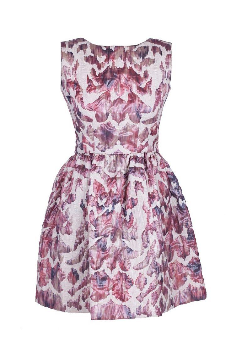 Sukienka z wytłaczanego żakardu | MATIN by Paula Cas | SHOWROOM