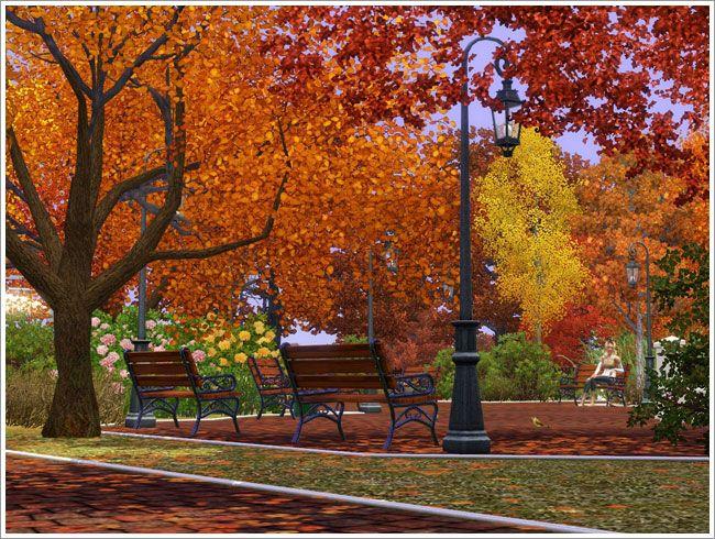 городской парк симс3