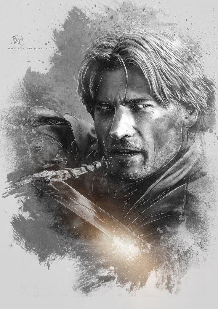 Jaime Lannister - Game of Thrones by Etienne-Ripzaad.deviantart.com on @deviantART