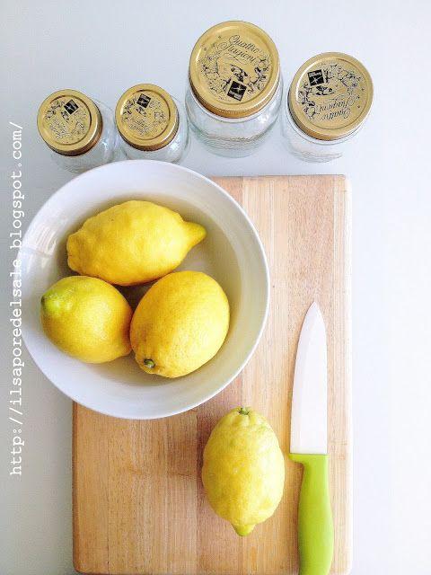 Marmellata fatta in casa con limoni bio di sorrento. Ricetta marmellata di limoni. Come fare la marmellata di limoni in casa.