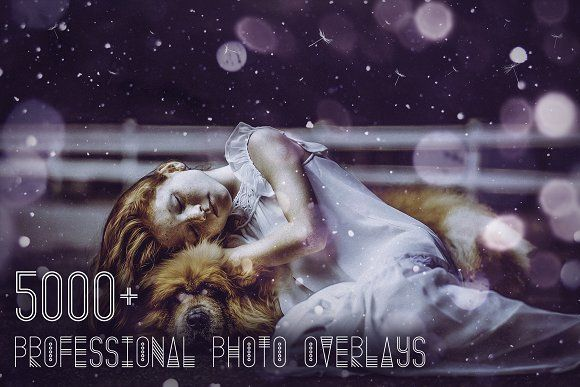 5000 Professional Photo Overlays By Eldamar Studio Photoshop