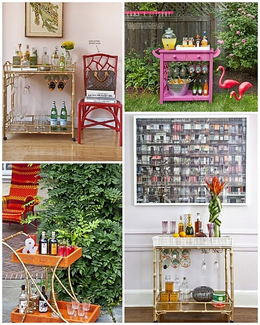 17 Best Images About Home Bar Cart Inspiration On