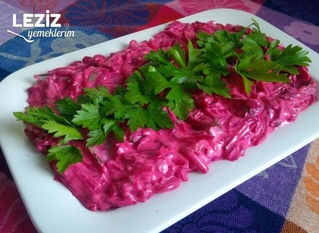 Semizotlu Salatalıklı Cacık Leziz Yemeklerim Yemek Tarifi Pancar Salatası Pancar Leziz Yemek