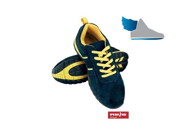 Bezpečnostná pracovná obuv s oceľovou špicou. Kvalitná pracovná obuv v modernom prevedení.Kategória SB SRA, spĺňa požiadavky EN20345