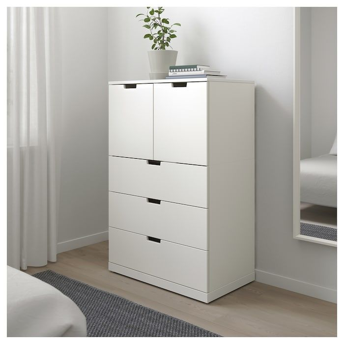 Nordli 5 Drawer Chest White 31 1 2x48 Ikea Chest Of Drawers