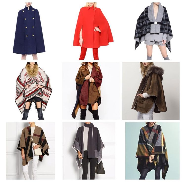 Hot capes this fall
