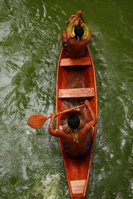 Hermanos del Amazonas. Brasil. El Chamán.