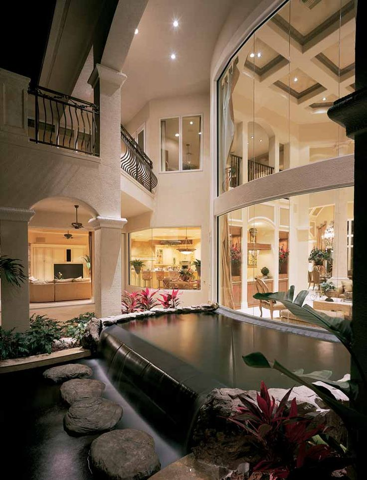 Best 25 mediterranean homes plans ideas on pinterest for Luxury garage designs