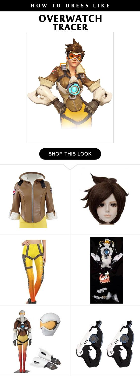 Overwatch Tracer Costume Infographic