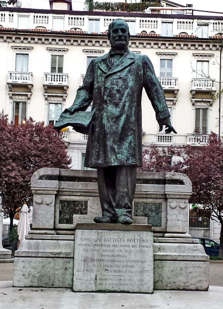 TORINO (Piemonte) - monumento a Giovanni Battista Bottero - by Guido Tosatto