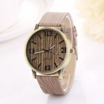 Creative Luxury Watch Women Vintage Wood Grain Watches Women Quartz Watch Wrist watches Gift bayan kol saati montre femme