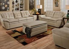 Jack Cream 2 Pc. Living Room · Leather Living RoomsNew FurniturePearl ...