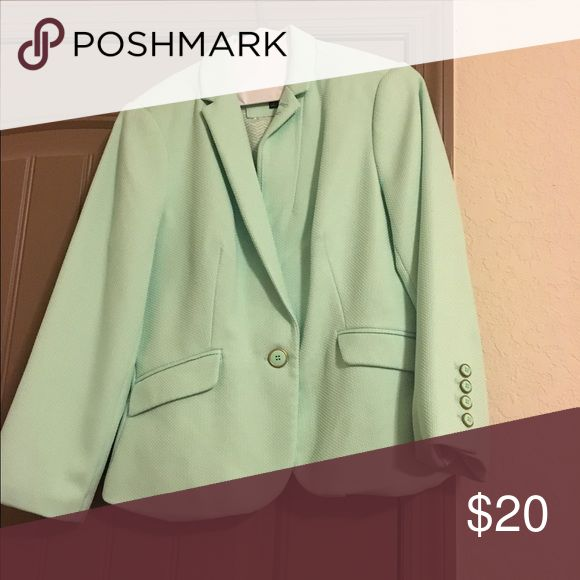 The Limited blazer Mint green blazer from The Limited Jackets & Coats Blazers