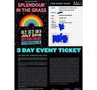 #Ticket  2x Splendour In The Grass Tickets #Australia