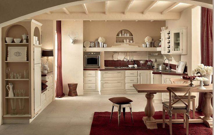 Cucina muratura shabby chic cerca con google shabby pinterest home design home and shabby Shabby chic style interieur