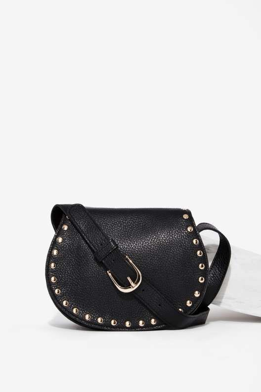 B-Low the Belt Kelly Leather Crossbody Bag