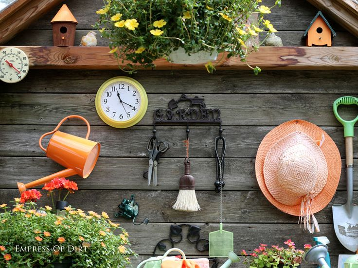 Create A Wonderful Potting Shed Garden Art Gardens And