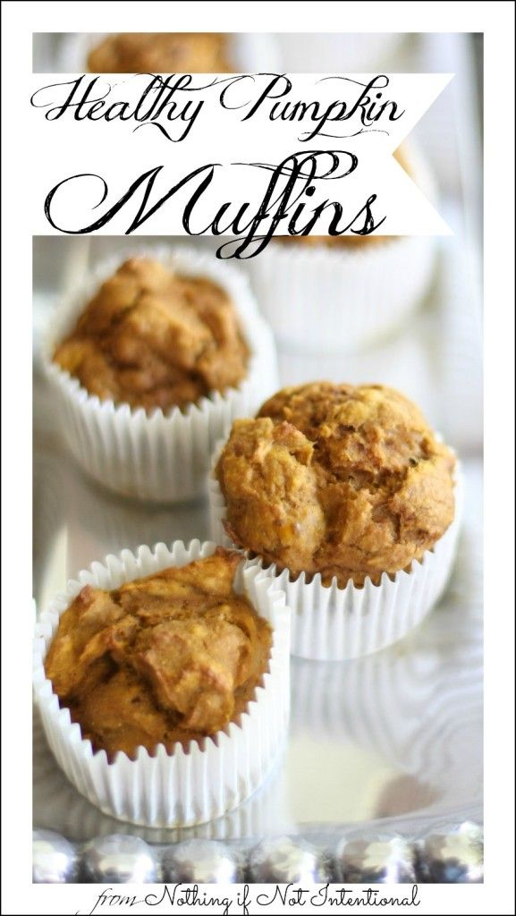 This healthy pumpkin muffin recipe (no oil!) is a great reason to stock up on pumpkin in the fall and keep it around to use throughout the year!