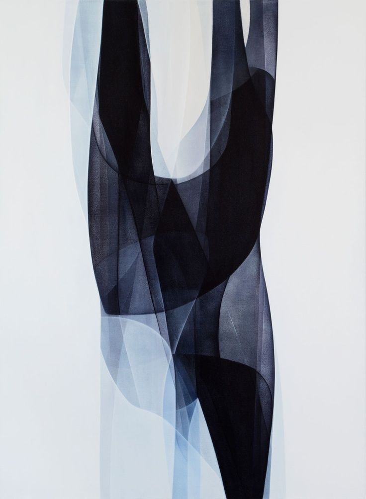 Agneta Ekholm ~ Untitled, 2012 (acrylic on canvas)