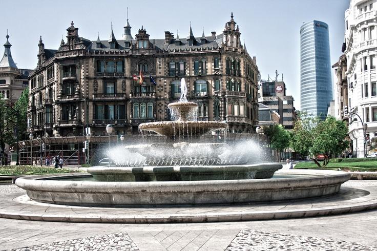 Bilbao - Plaza de Moyua