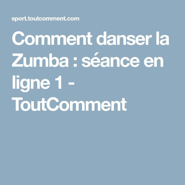 Comment danser la Zumba : séance en ligne 1 - ToutComment
