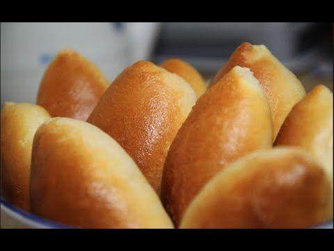Домашние ПИРОЖКИ С КАПУСТОЙ в духовке. Объедение. Homemade buns with cabbage. - YouTube