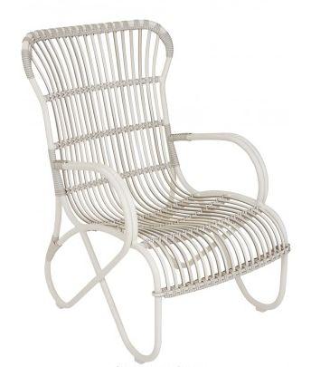 Sissy-boy homeland lounge chair white