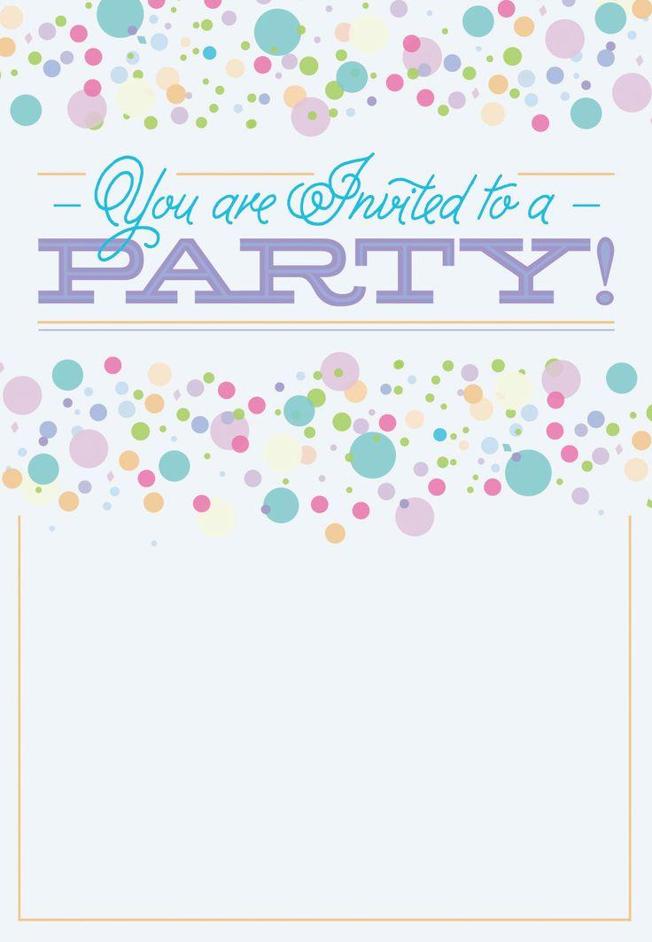 The 25+ best Free printable invitations templates ideas on - free birthday invitation templates